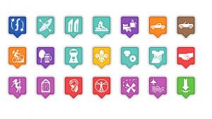 Icones GoogleMaps personnalisables