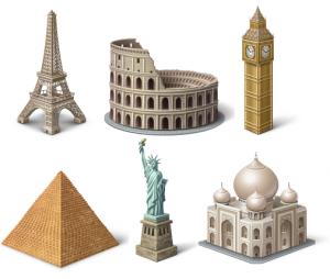 icones monument gratuites