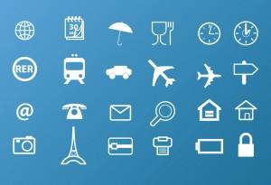 Icones Voyage gratuites