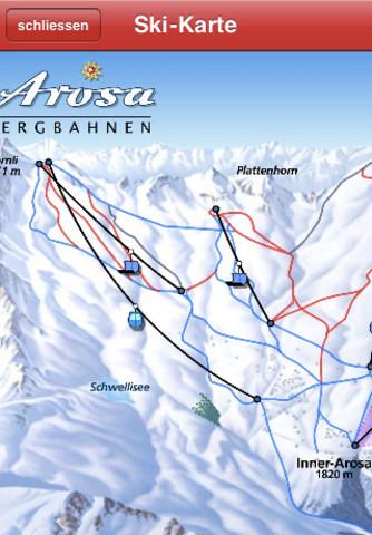 Carte des pistes