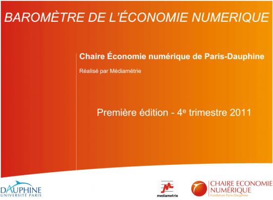 Baromètre de l'économie numérique, Paris Dauphine