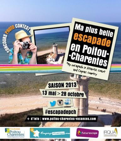 Concours photo, l'exemple du Poitou-Charentes avec Sharypic et Instagram