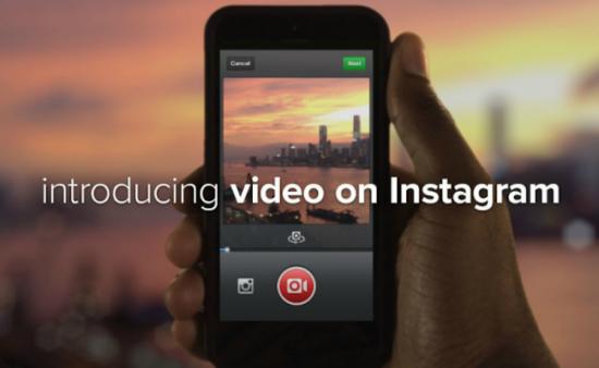 Intégration des vidéos dans Instagram