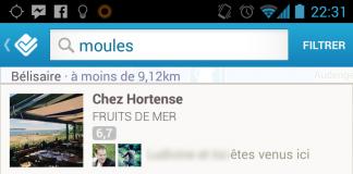 Moules chez Hortense