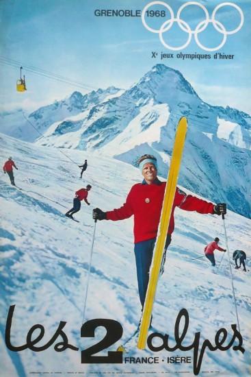 Les 2 Alpes - 1968