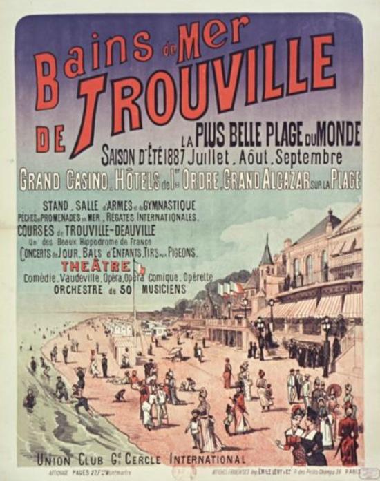 Trouville, la plus belle plage du monde (1887)