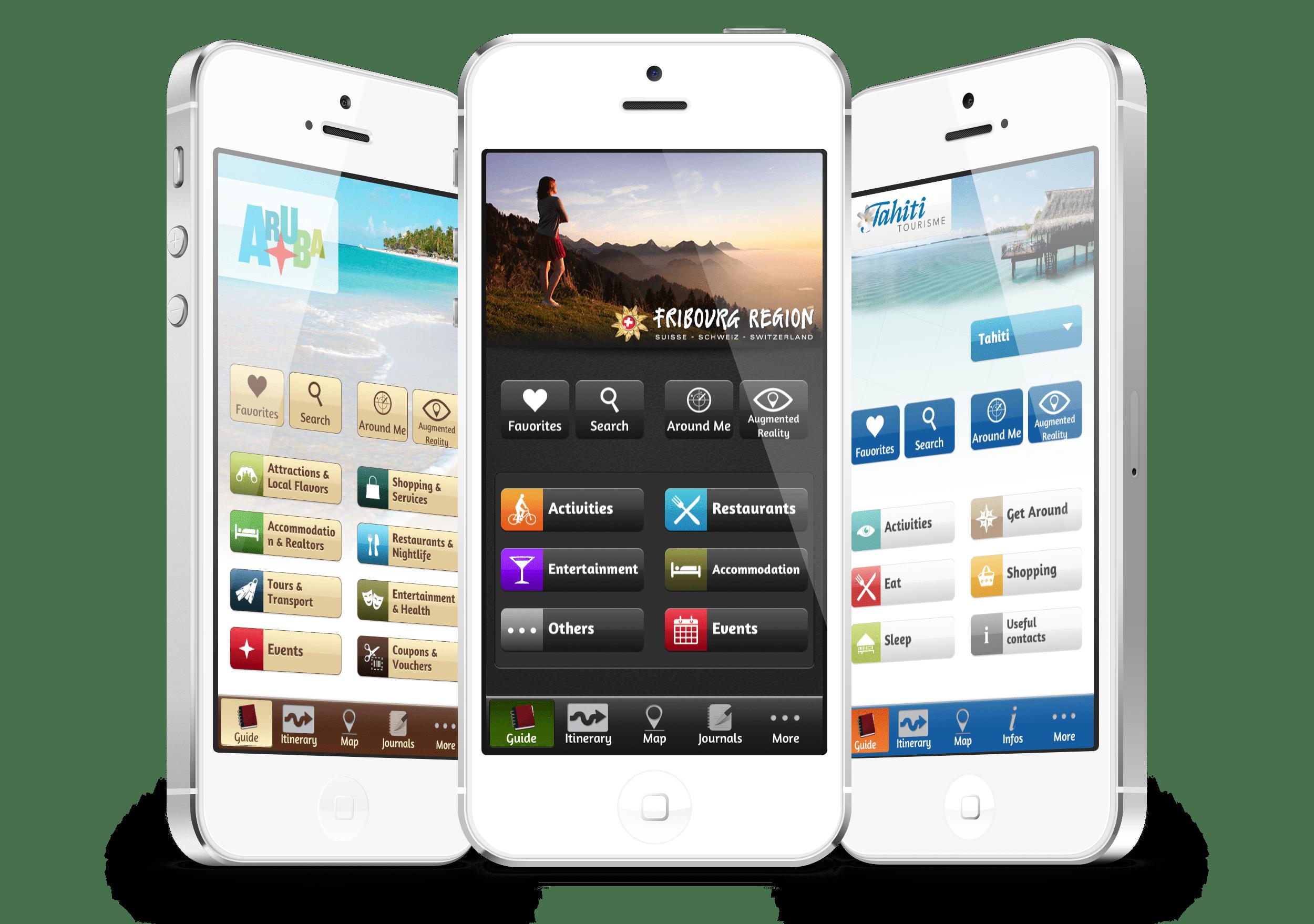 mTrip application guide de voyage office de tourisme
