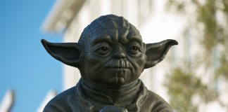 Yoda Fountain at the Presidio, San Francisco @Flickr Par sw77
