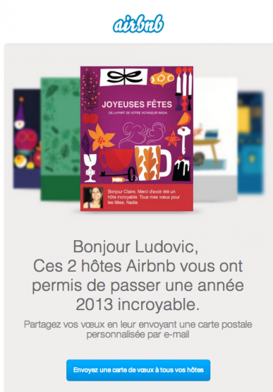 Voeux airbnb