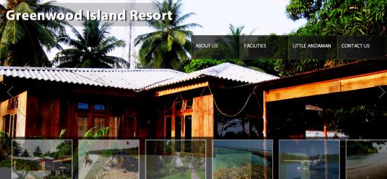 Greenwood Island Resort website