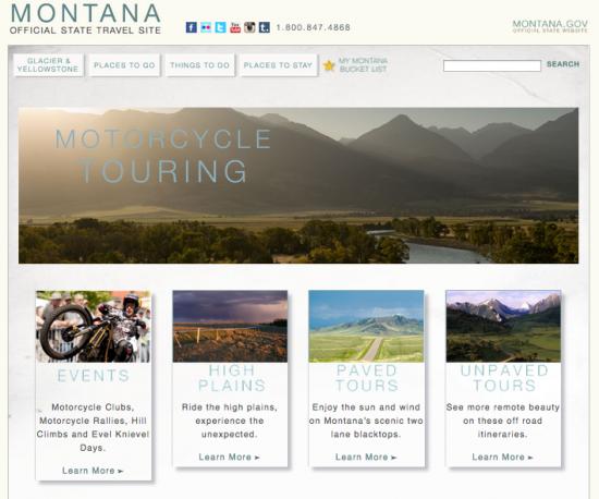 motorcycling montana