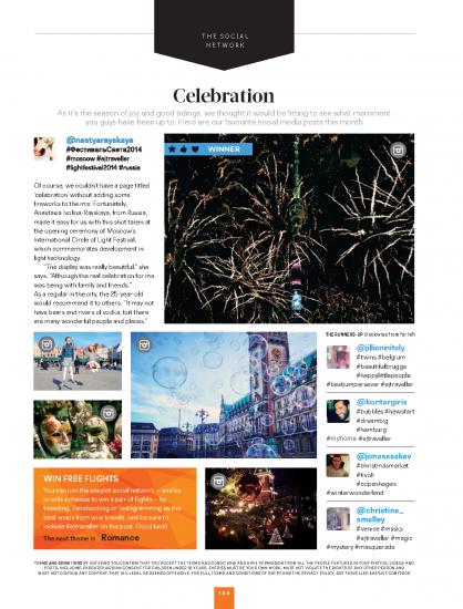 EasyJet magazine décembre