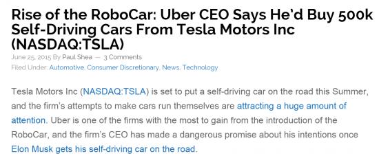 uber-tesla