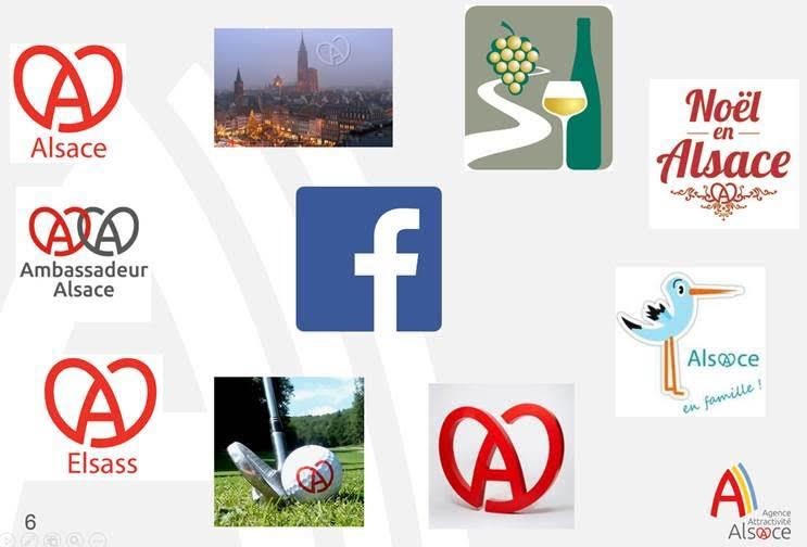 Tourisme Alsace sur Facebook
