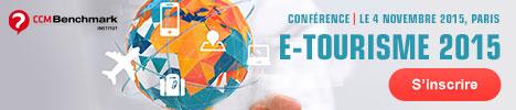 """S'inscrire à la conférence Benchmark """"etourisme 2015'"""