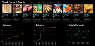 PicStats, un outil pour analyser son compte Instagram