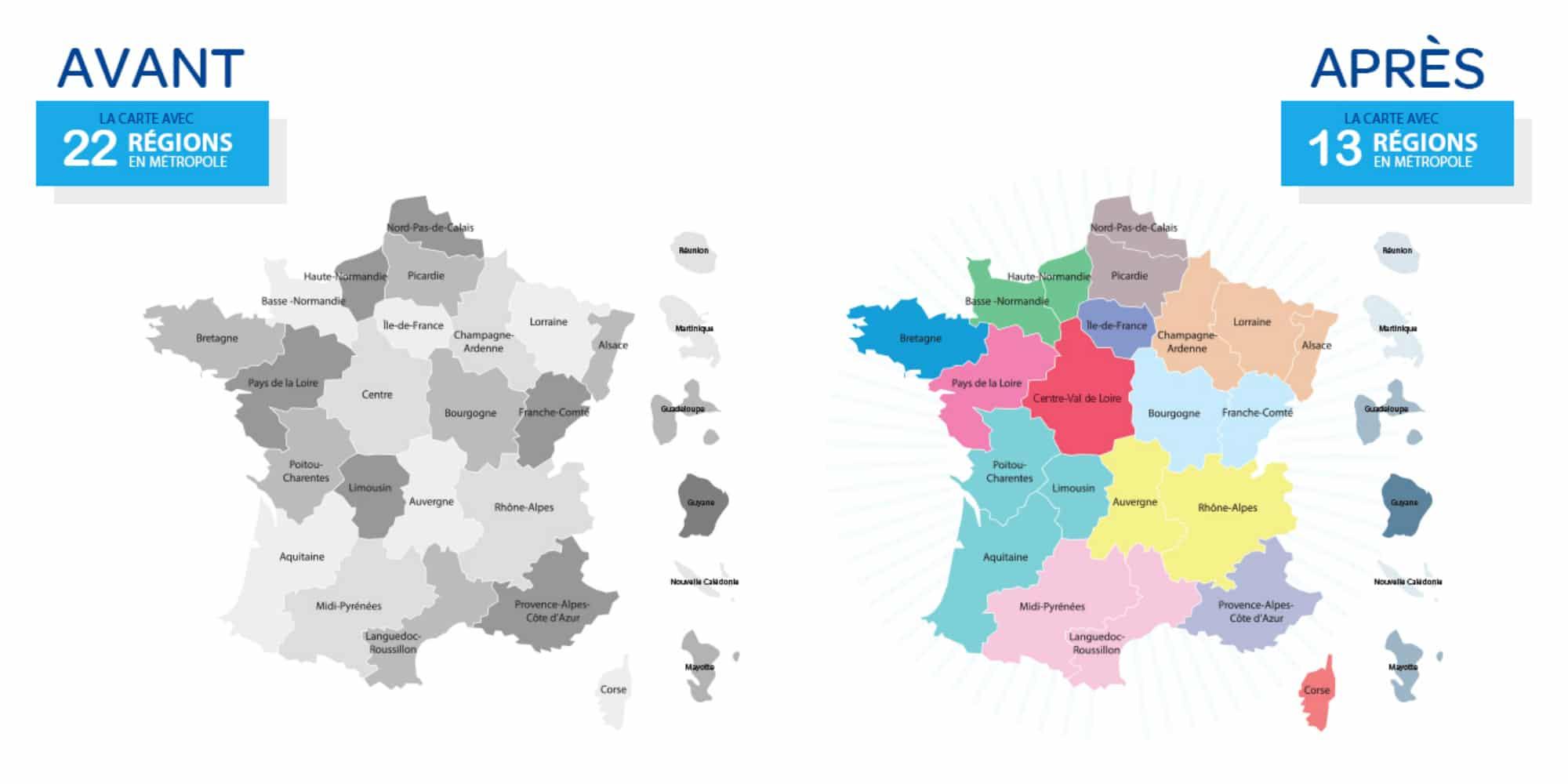 nouvelles regions francaises - Image