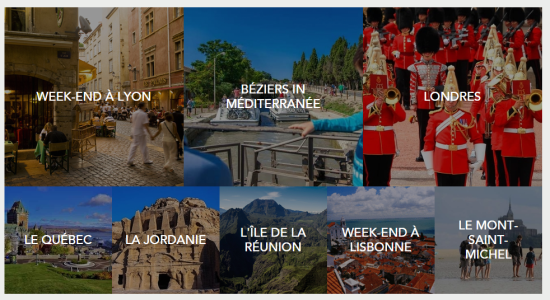 Destinations SNCF