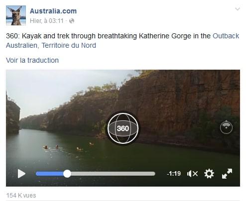 Australie 360 réalité virtuelle