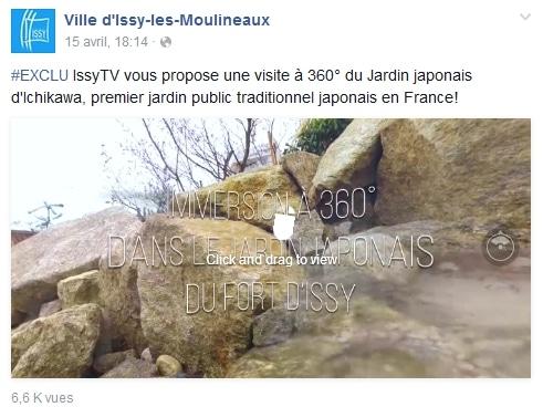 Issy 360 réalité virtuelle