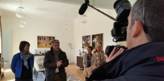 Interview au château Lamothe-Bergeron