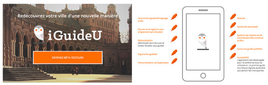 iguideu application de guide local smartphone