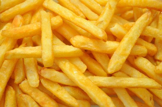 des frites une fois
