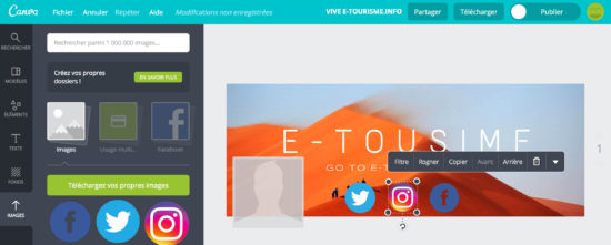 Canva - insertion d'images