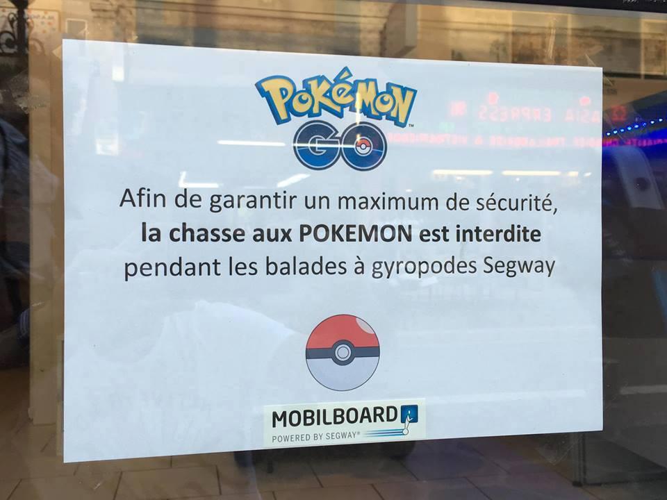 Mise en garde sur l'utilisation du jeu Pokémon