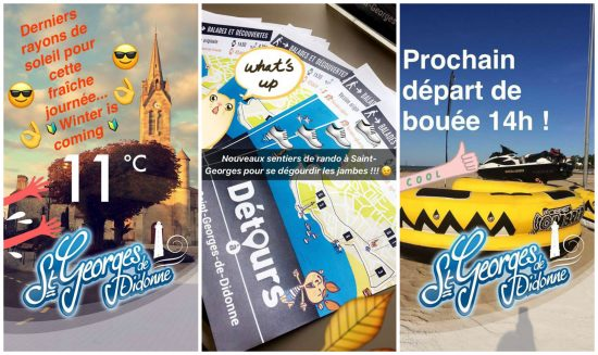 L 39 exp rience snapchat de l 39 office de tourisme de saint - Office de tourisme st georges de didonne ...