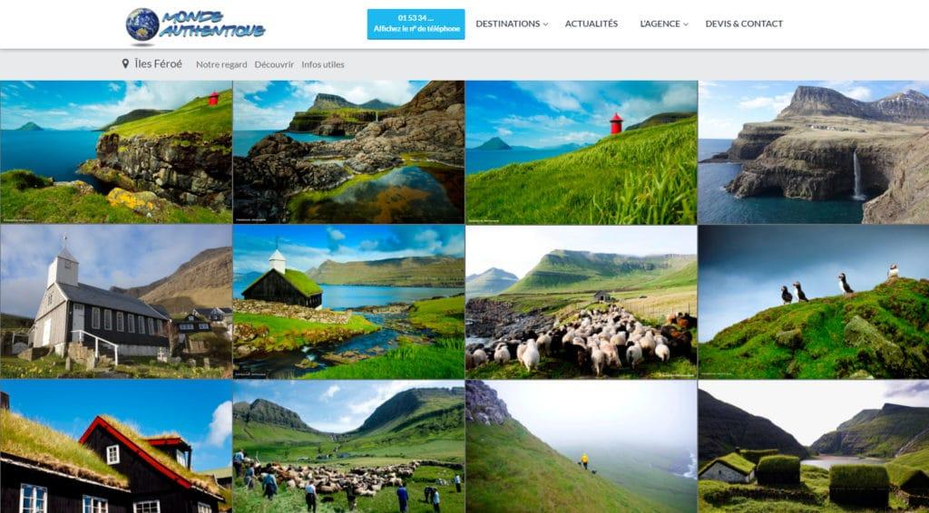 Les ÎlesFéroé vues par l'Agence Monde Authentique