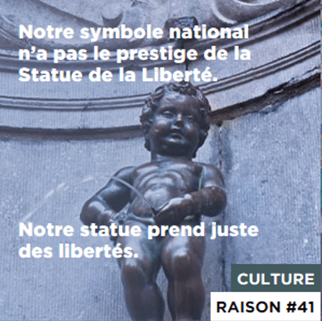 Statue belge