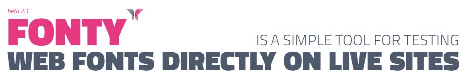 Fonty Dizoo, pour tester ses polices en ligne