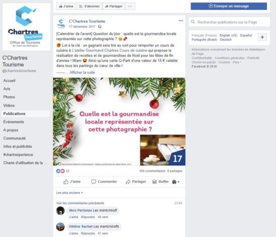 chartres tourisme facebook