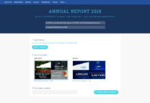 Rapport annuel page Facebook 2018