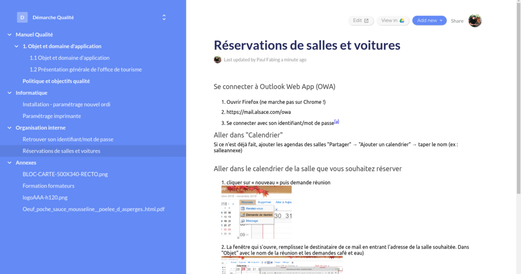 Publier un Wiki facilement grâce à Google Docs | Etourisme info