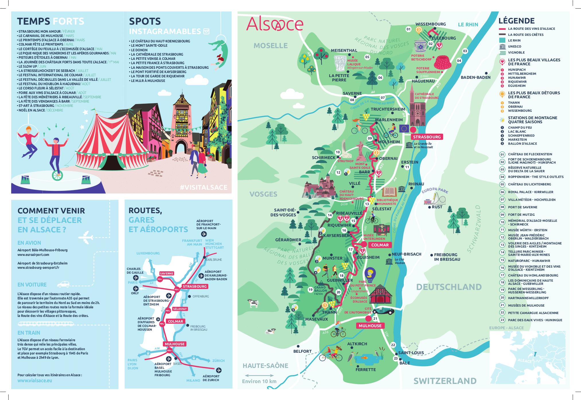 carte de l alsace touristique Quand la carte fait débat au lieu de l'inverse | Etourisme.info