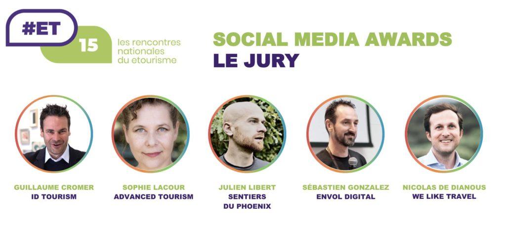 Le jury des Social Media Awards 2019 des #ET15