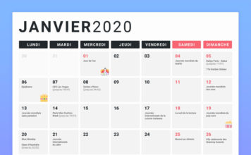 Calendrier marketing 2020 blog du moderateur