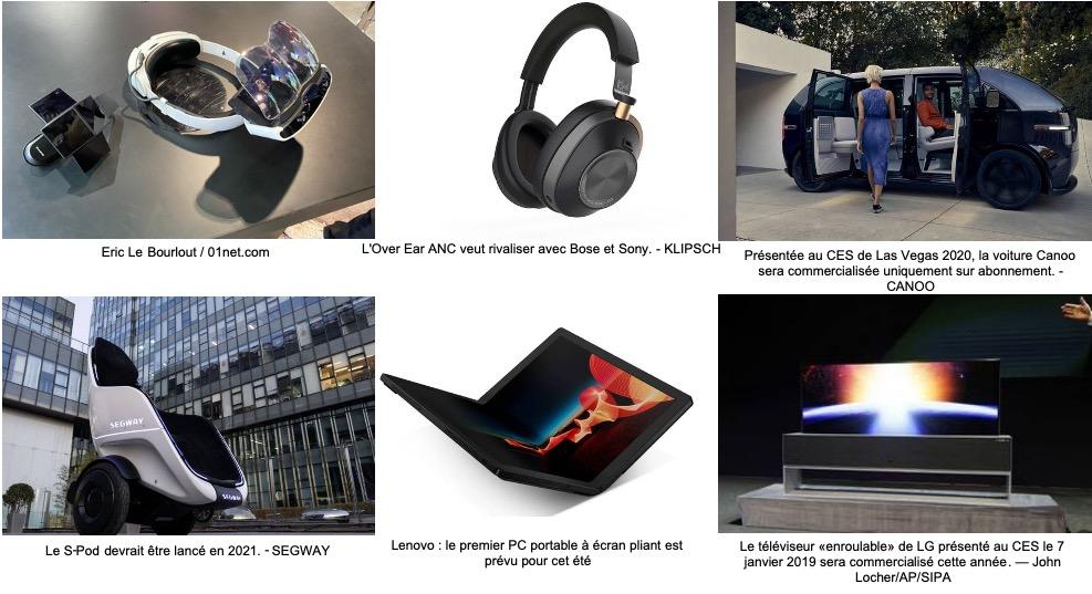 Exemples de quelques innovations présentées lors du CES 2020 de Las Vegas - ETourisme.info