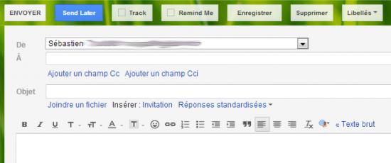 Planifier l'envoi d'un email avec Gmail