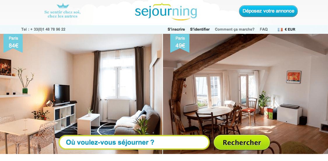 sejourning