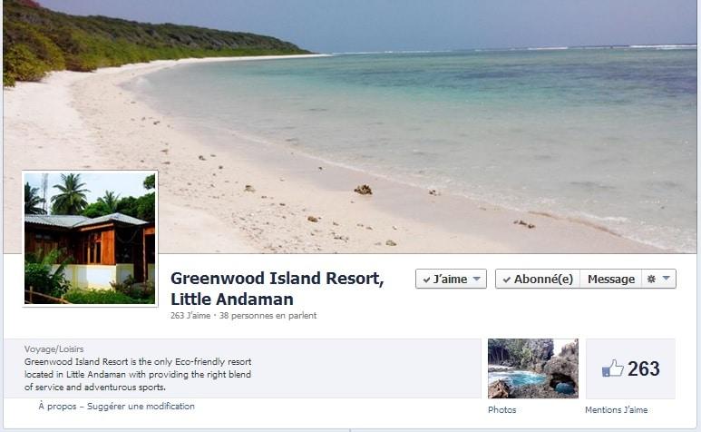 Greenwood Resort Facebook page