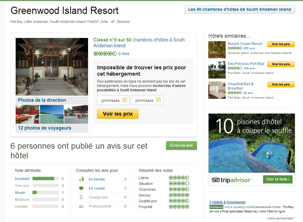 Tripadvisor Greenwood Resort