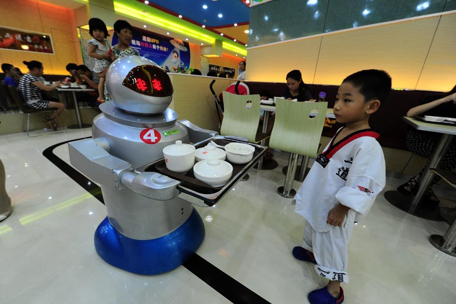 Robots restaurant chinois