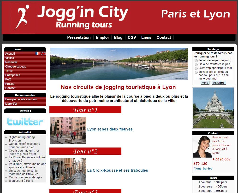 Sightjogging à Lyon