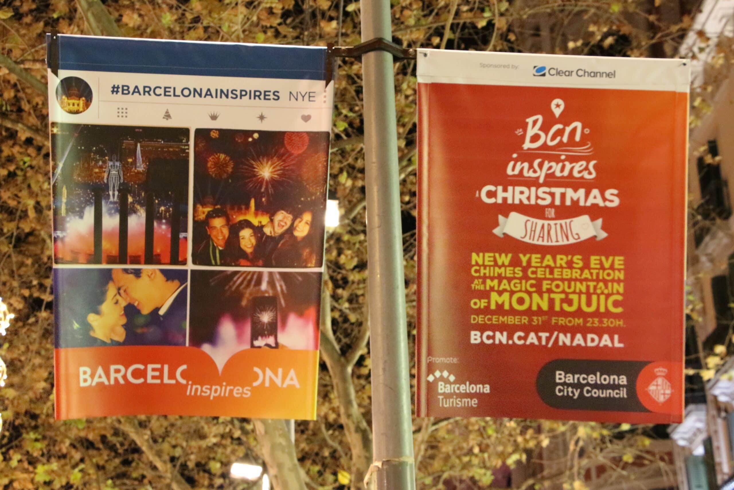 Affiche dans Barcelone