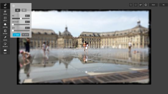 Retoucher une photo avec Pixlr desktop
