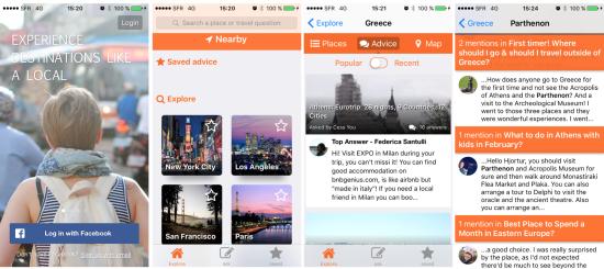 Application Trippy quand le local aide à faire son voyage sur smartphone