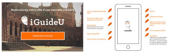 iguideu application de guide local smartphone